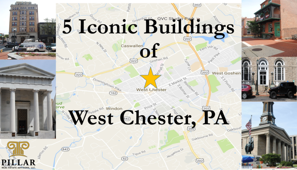 5 Iconic Buildings of West Chester, PA on map of west chester municipality, map west chester pa 19380, map of lebanon, map of west bradford twp pa, map of new castle, map of virginia and pennsylvania, map of west chester pa, map of west goshen, map of harrisburg, map of west chester area,